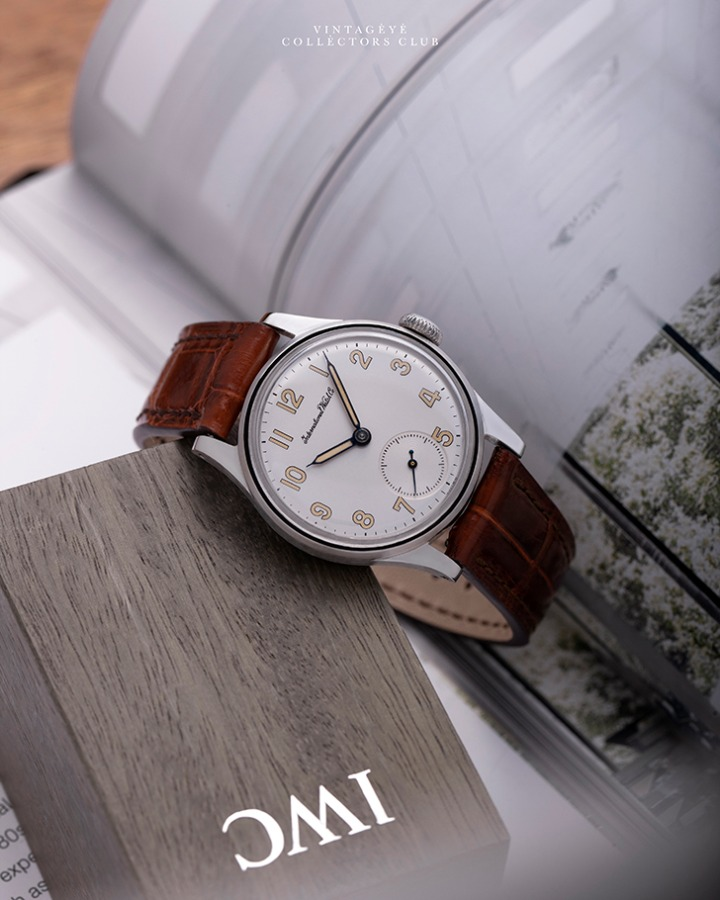 IWC@1946 Dress Watch M4884
