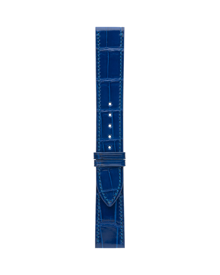 Crocodile@Royal Blue Glossy Strap