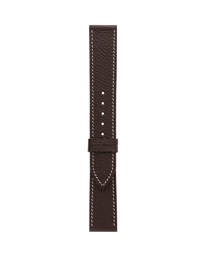 Calf@Dark Brown Matte Strap