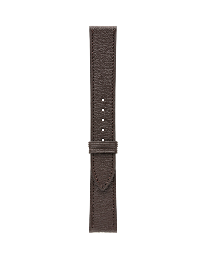 Goat@Dark Brown Matte Strap