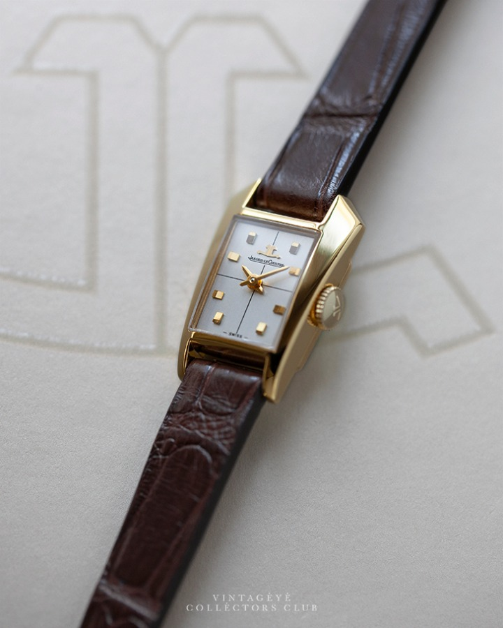 JAEGER-LECOULTRE@1957 Dress Watch For Ladies M4955
