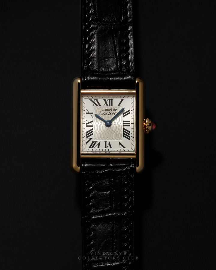 CARTIER@1990s Must Tank 150th Anniversary 013
