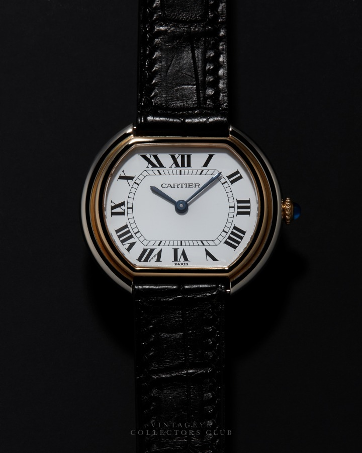 CARTIER@1980s Ellipse Combi Large 091